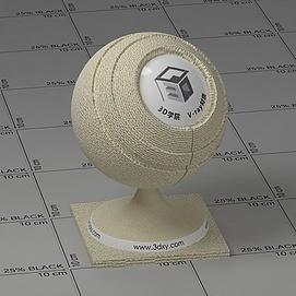米色麻布Vary材质球