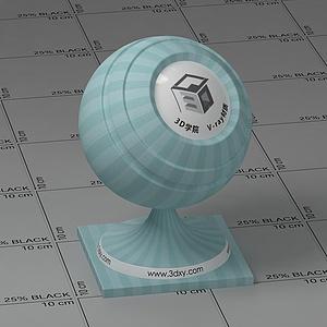 淡藍色墻布Vary材質球球