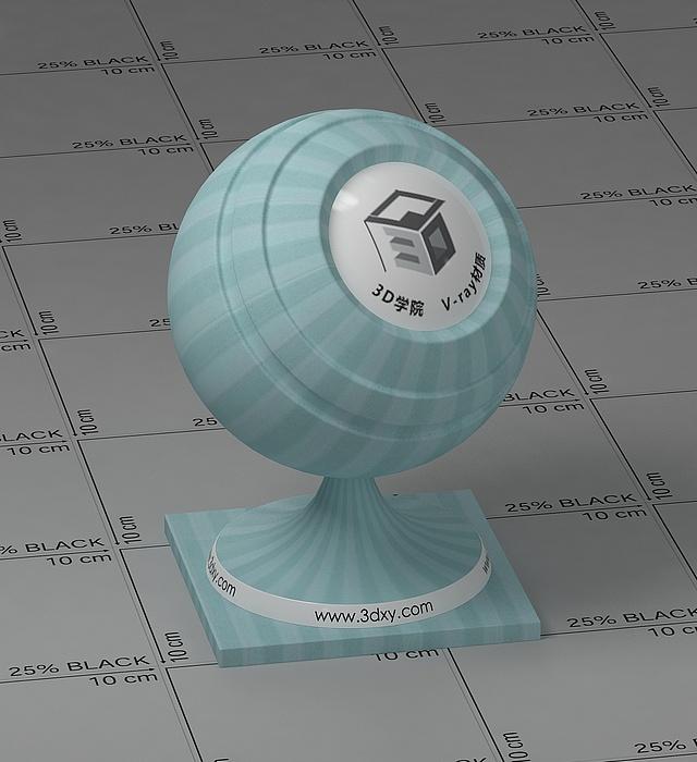 淡藍色墻布vray材質球
