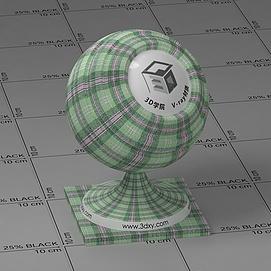 绿色格子Vary材质球球