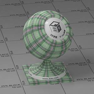 綠色格子Vary材質球球