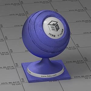 藍色絲綢Vary材質球球