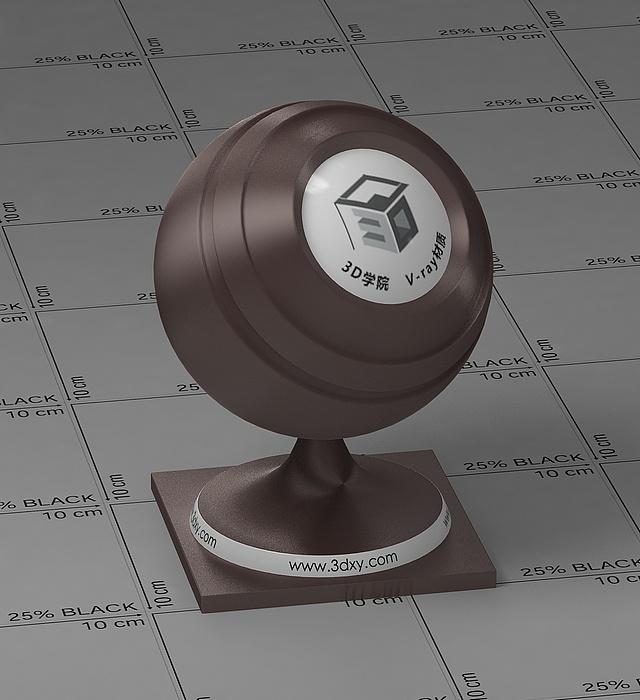 棕褐色絲綢vray材質球