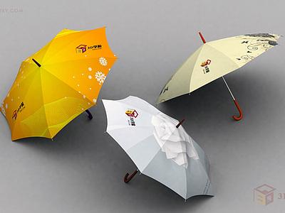 【建模技巧】花傘的建模制作