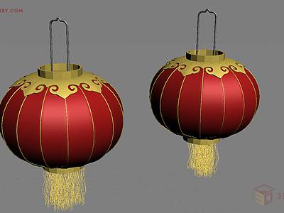 【建模技巧】如何用3DMAX制作燈籠模型