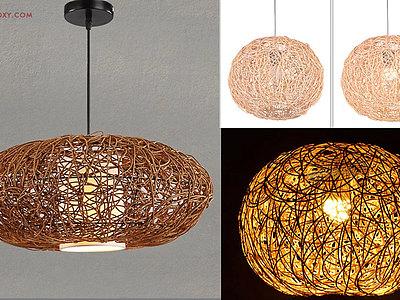 【建模技巧】如何用3DMAX制作簡單編藤藝燈罩模型