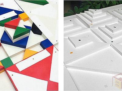 【展覽靈感】美國藝術家帶你感受幾何的無限魅力