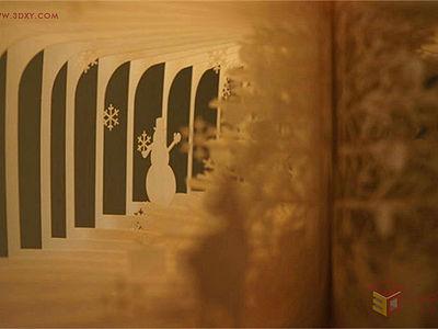 【創意分享】一本書,一道風景,美到哭的360度立體書
