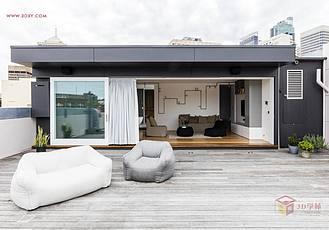 【創意分享】改建自庫房的悉尼小公寓
