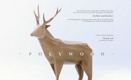 【创意分享】Low Poly风格的木雕