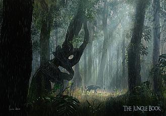 電影《奇幻森林》The Jungle Book(2016) 與森林共舞