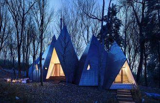 《日本那須帳篷式建筑》場景制作流程中文圖文教程