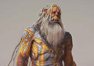 大神制作《魔獸世界》獸人角色模型圖文教程