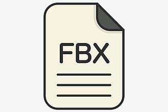 FBX文件格式模型如何下載