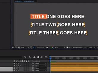 AE腳本-自適應文字底欄方框圖形工具教程