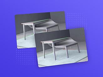 3DMax制作異型桌