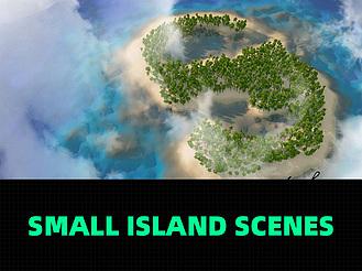 C4D制作海島小場景