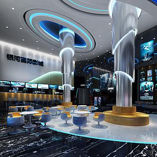 电影院整体模型
