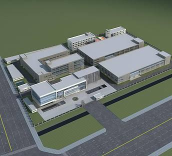 厂房办公楼规划