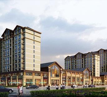 新中式住宅商业街