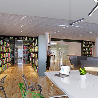 图书馆整体模型