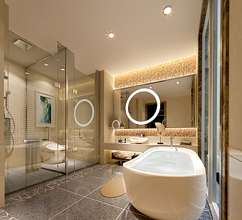 漂亮卫生间