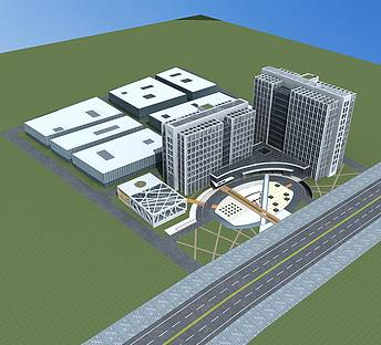 厂房及办公楼