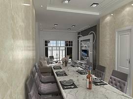 客餐厅整体模型