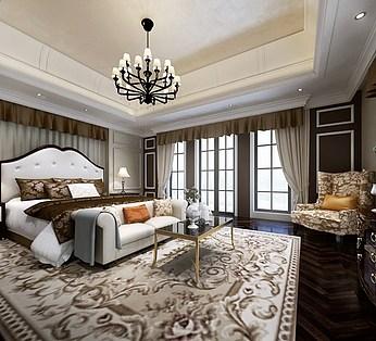 简欧风格卧室