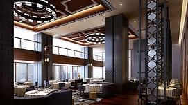 西餐厅整体模型