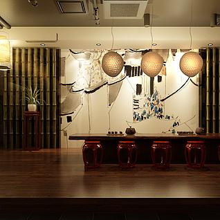 茶室整体模型