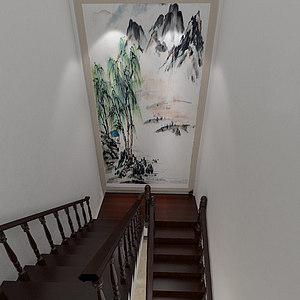 楼梯间整体模型