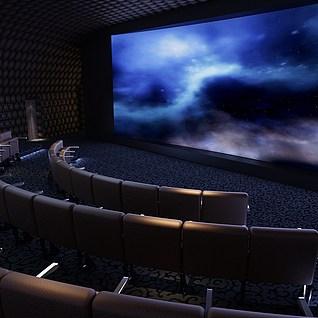 VIP放映厅整体模型
