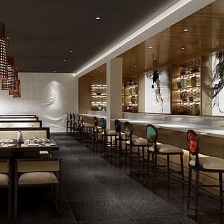 餐厅整体模型