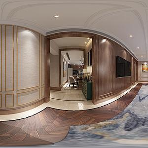 客餐厅模型3d模型