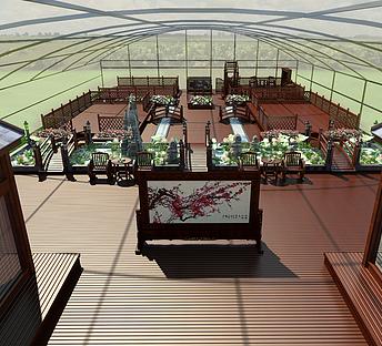 中式园区规划