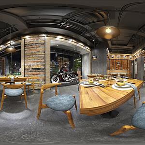 餐廳整體模型