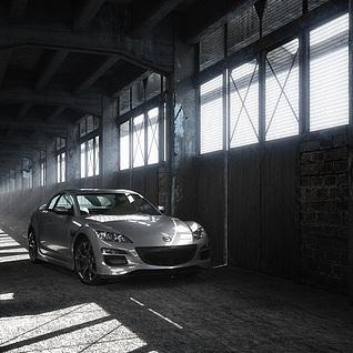 汽车展示整体模型