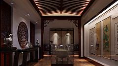 工装,室内,场景,展厅店铺3D模型