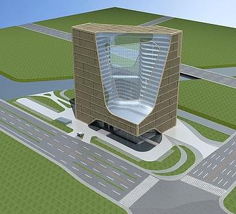 现代办公大楼