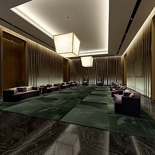 贵宾厅整体模型