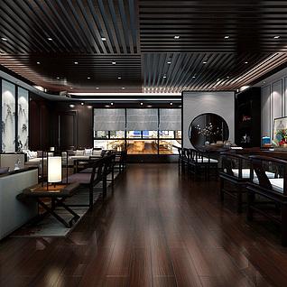 2012中式会客厅整体模型