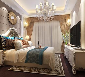欧式卧室卫生间