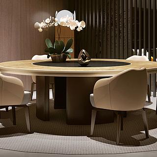 休闲餐厅整体模型