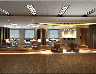 展厅椅子3d模型
