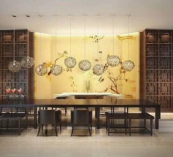 中式会议室