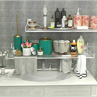 浴室摆件3d模型