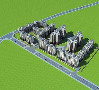 多层住宅小区