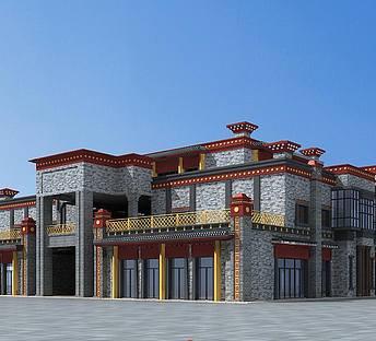 藏式商业综合楼