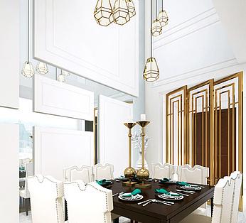 现代风格餐厅